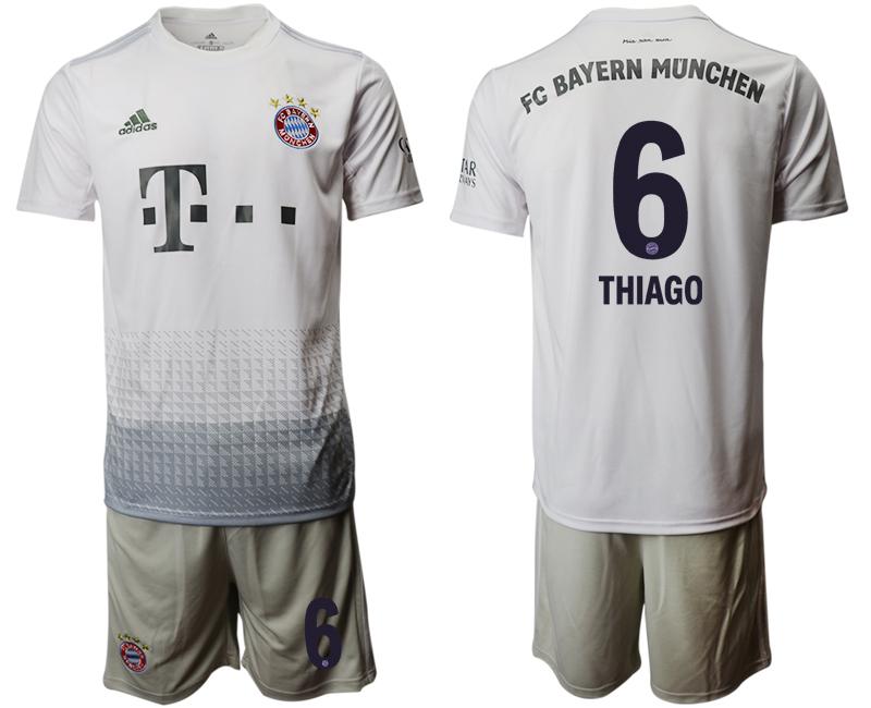 2019-20 Bayern Munich 6 THIAGO Away Soccer Jersey