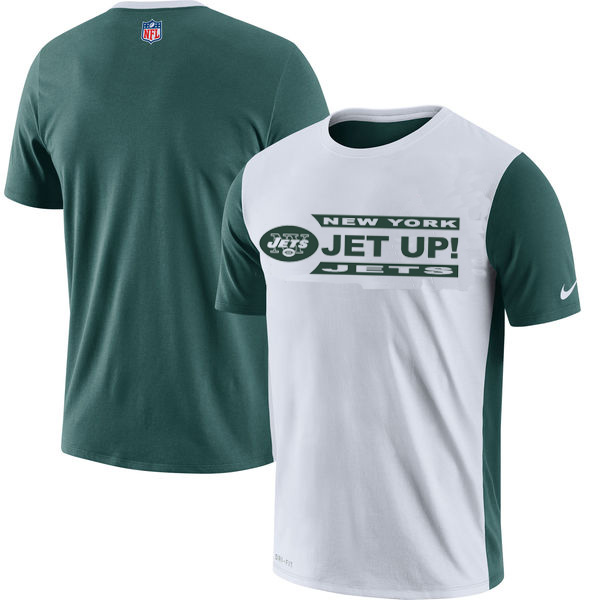 NFL New York Jets Nike Performance T Shirt White