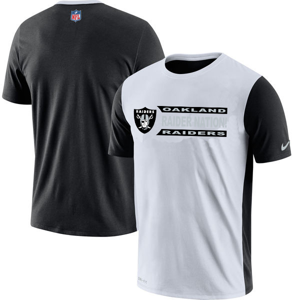 NFL Oakland Raiders Nike Performance T Shirt White