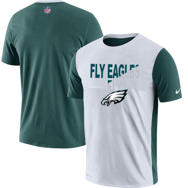 Philadelphia Eagles Nike Performance T Shirt White