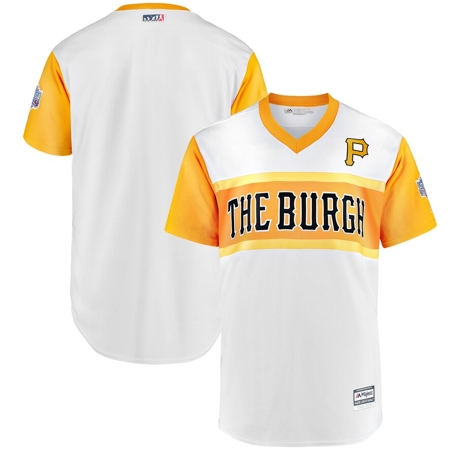 Pirates Blank White 2019 MLB Little League Classic Team Jersey