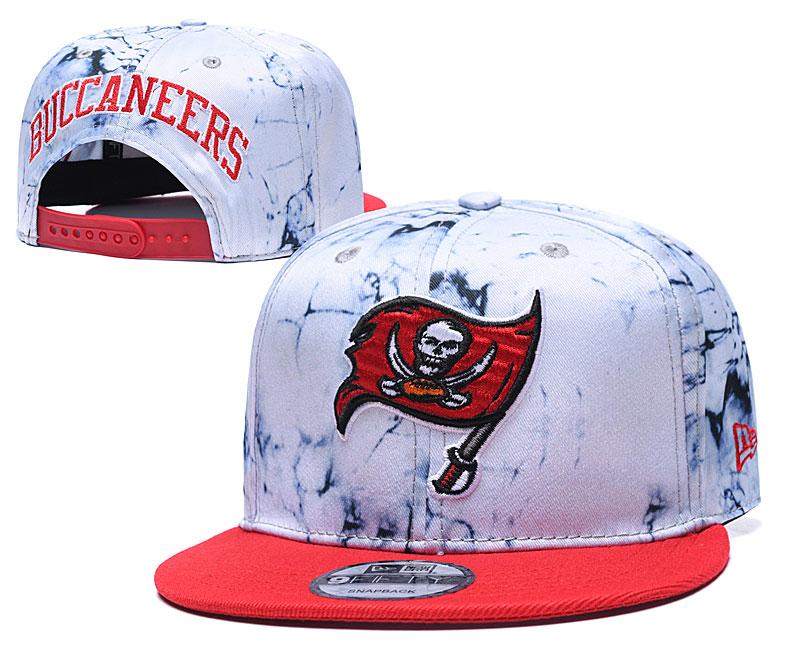 Buccaneers Team Logo Smoke Red Adjustable Hat TX