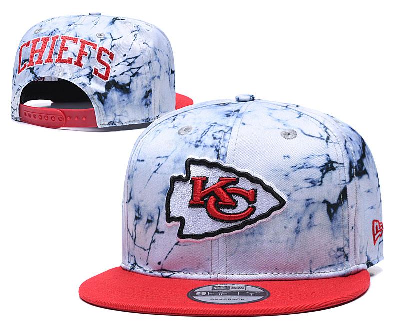 Chiefs Team Logo Smoke Red Adjustable Hat TX