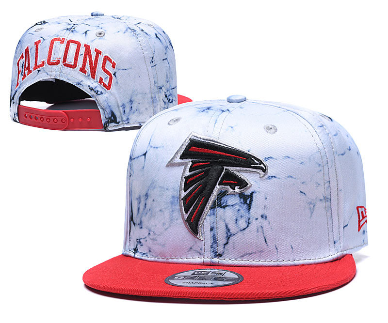 Falcons Team Logo Smoke Red Adjustable Hat TX