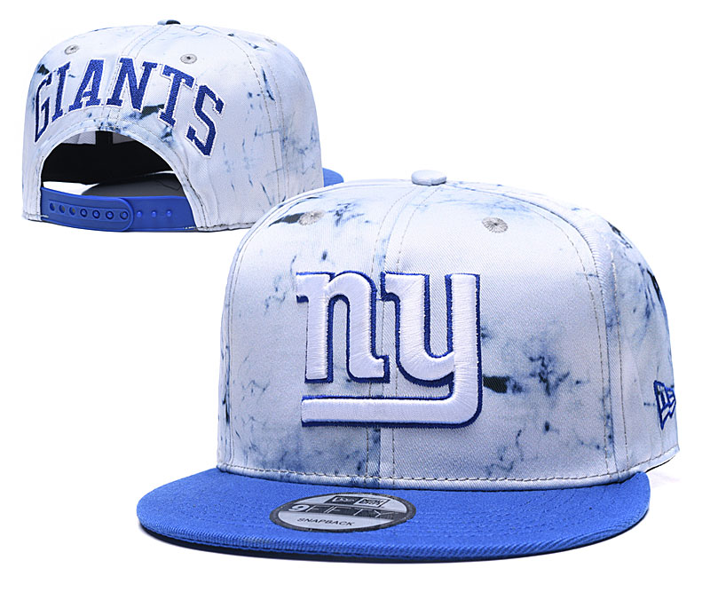 New York Giants Team Logo Smoke Royal Adjustable Hat TX