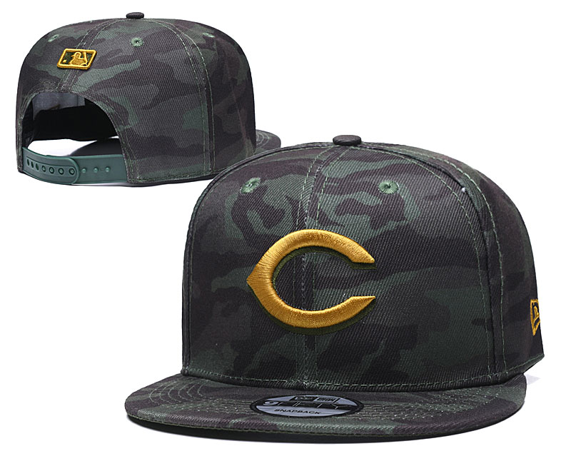 Reds Team Logo Camo Adjustable Hat TX