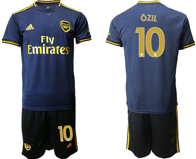 2019-20 Arsenal 10 OZIL Third Away Soccer Jersey
