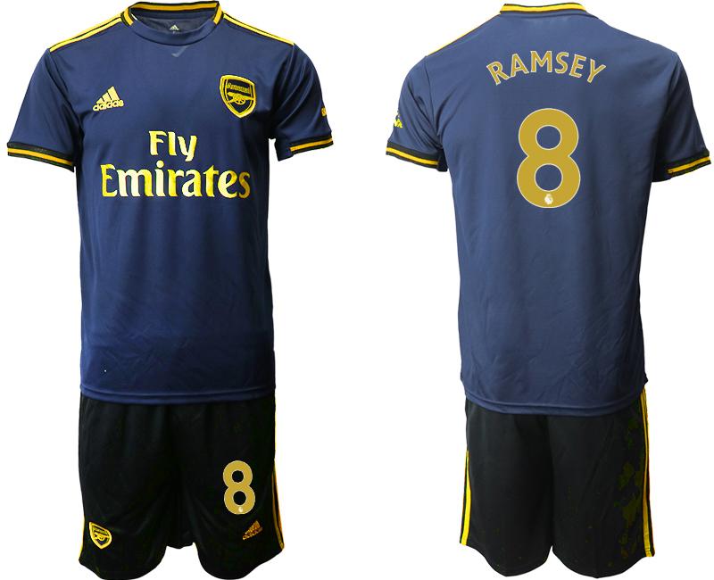 2019-20 Arsenal 8 RAMSEY Third Away Soccer Jersey