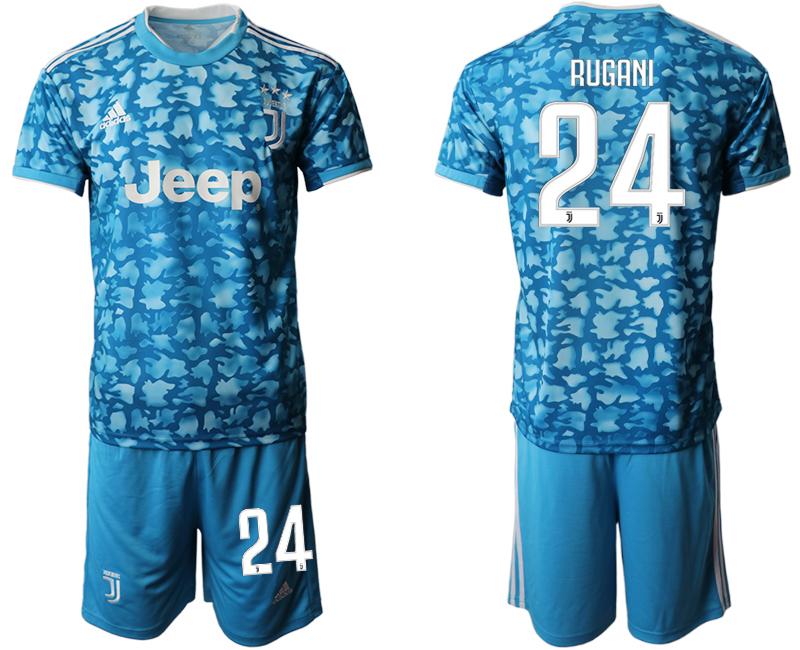 2019-20 Juventus FC 24 RUGANI Third Away Soccer Jersey
