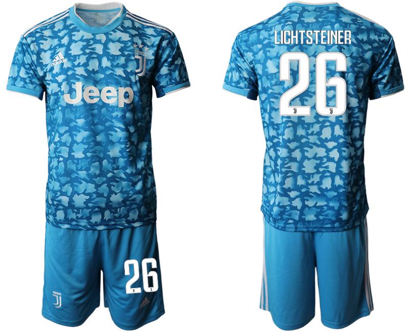 2019-20 Juventus FC 26 LICHTSTEINER Third Away Soccer Jersey