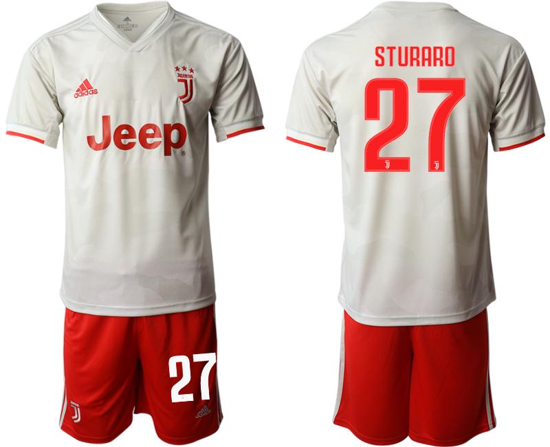 2019-20 Juventus FC 27 STURARO Away Soccer Jersey