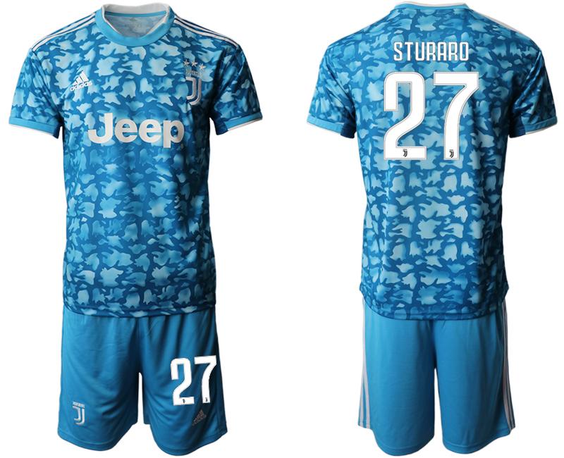 2019-20 Juventus FC 27 STURARO Third Away Soccer Jersey