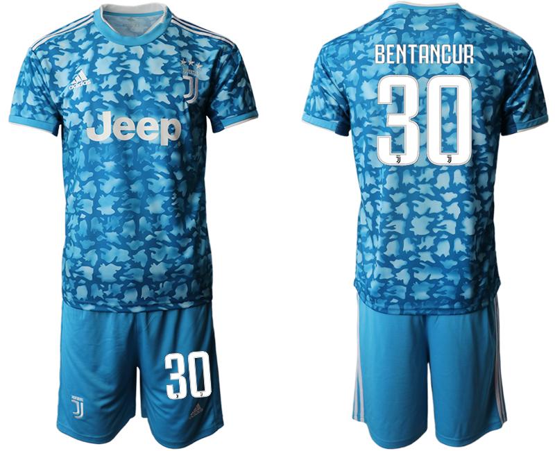 2019-20 Juventus FC 30 BENTANCUR Third Away Soccer Jersey