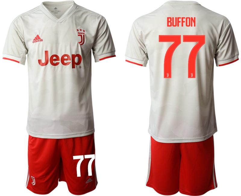 2019-20 Juventus FC 77 BUFFON Away Soccer Jersey