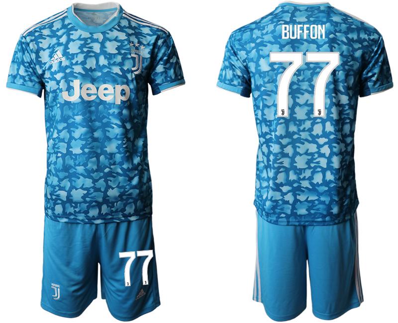 2019-20 Juventus FC 77 BUFFON Third Away Soccer Jersey