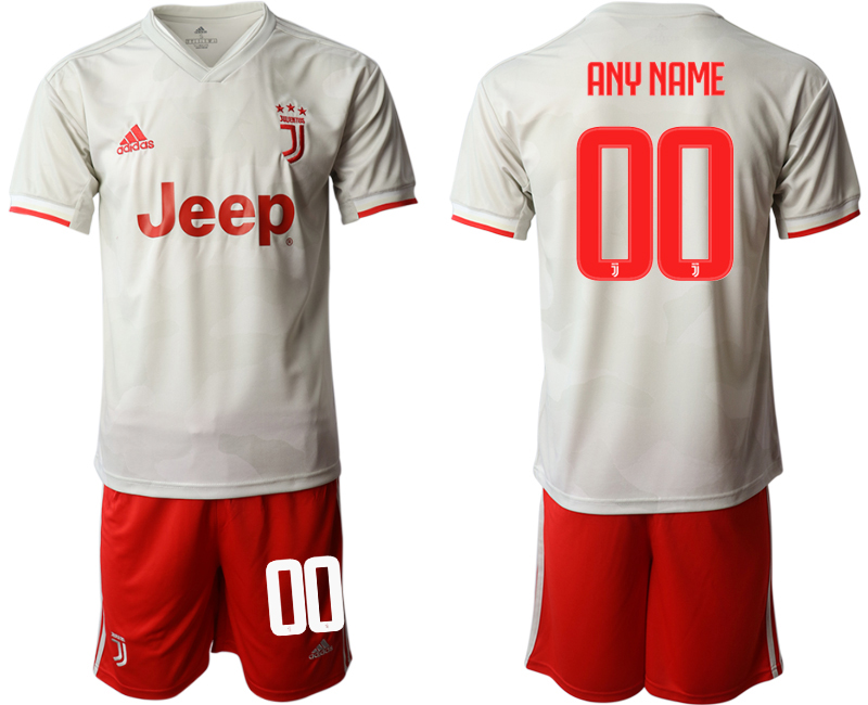2019-20 Juventus FC Customized Away Soccer Jersey
