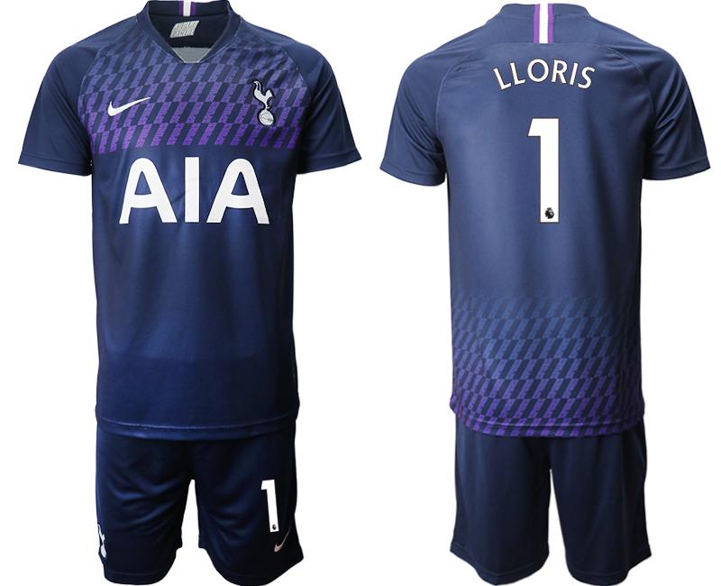 2019-20 Tottenham Hotspur 1 LLORIS Away Soccer Jersey