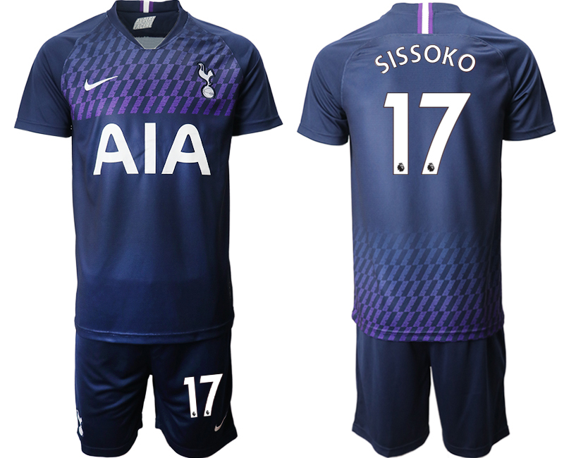 2019-20 Tottenham Hotspur 17 SISSOKO Away Soccer Jersey