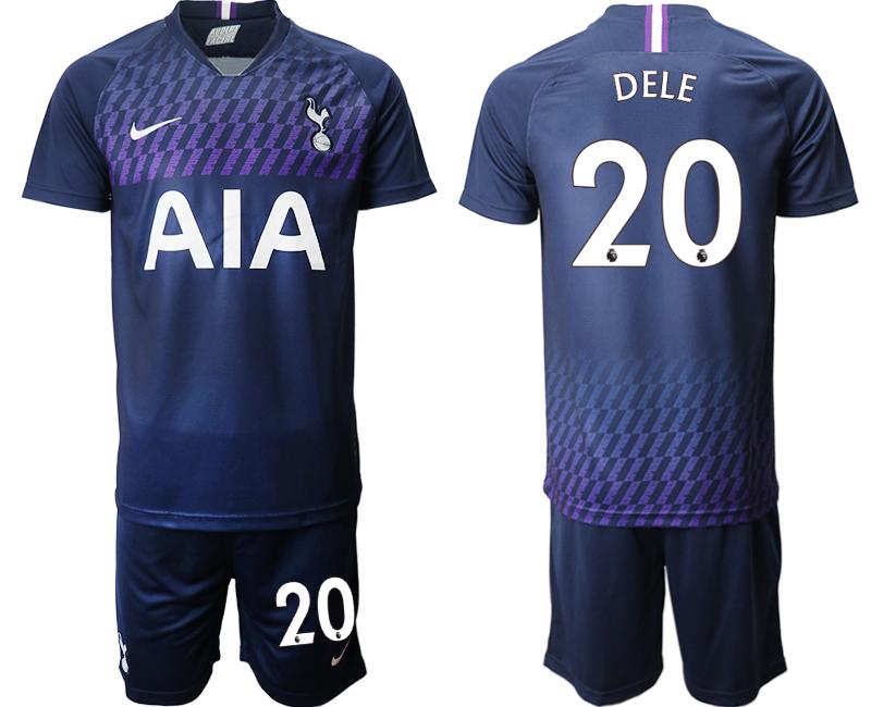 2019-20 Tottenham Hotspur 20 DELE Away Soccer Jersey