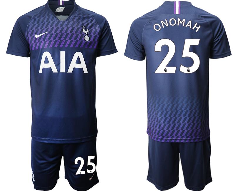 2019-20 Tottenham Hotspur 25 ONOMAH Away Soccer Jersey