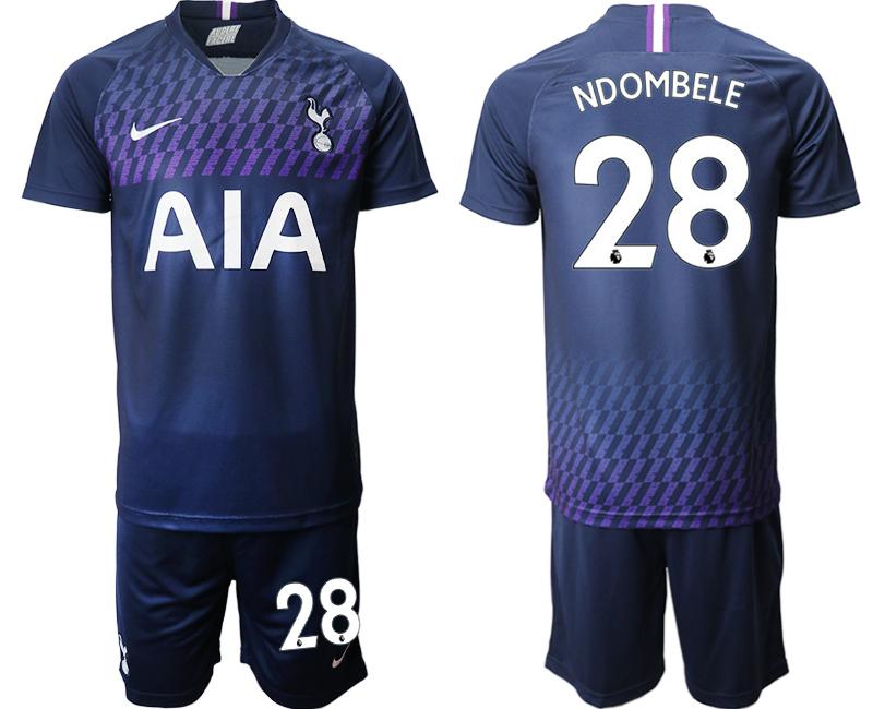 2019-20 Tottenham Hotspur 28 NDOMBELE Away Soccer Jersey