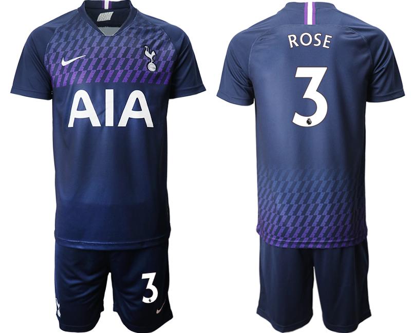 2019-20 Tottenham Hotspur 3 ROSE Away Soccer Jersey
