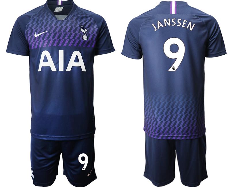 2019-20 Tottenham Hotspur 9 JANSSEN Away Soccer Jersey