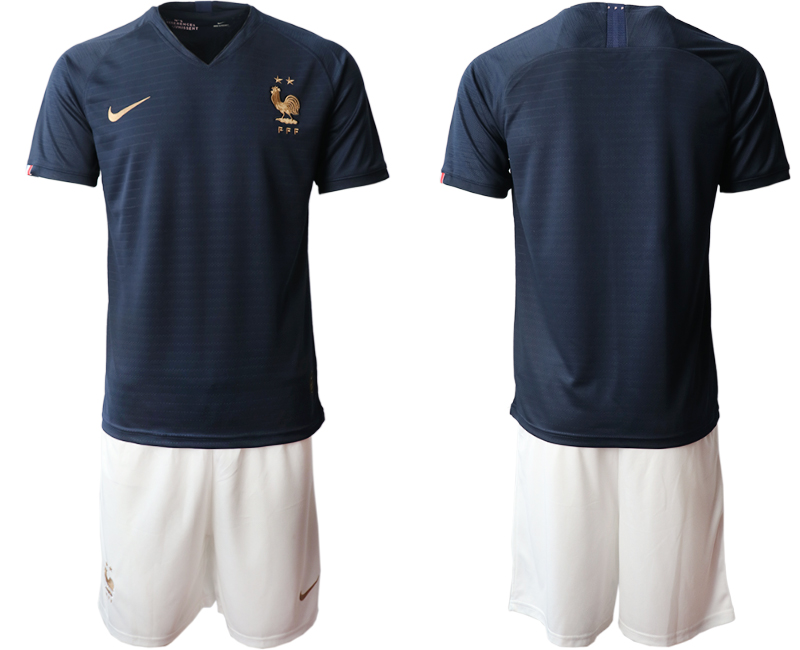 2019-20 France Home Soccer Jersey