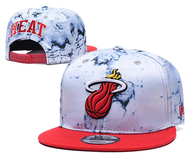 Heat Team Logo Smoke Red Adjustable Hat TX