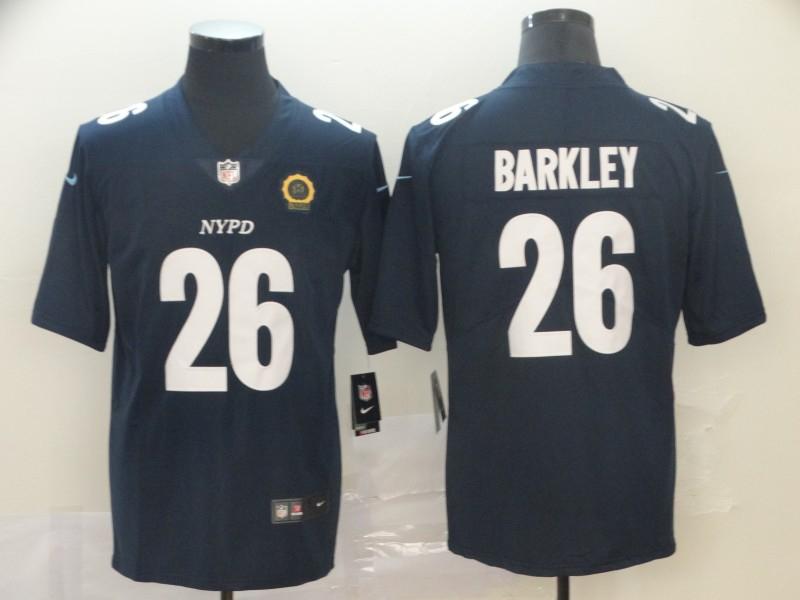 Nike Giants 26 Saquon Barkley Navy City Edition Vapor Untouchable Limited Jersey