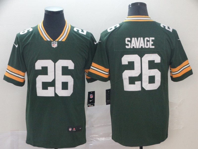 Nike Packers 26 Darnell Savage Jr. Green Vapor Untouchable Limited Jersey