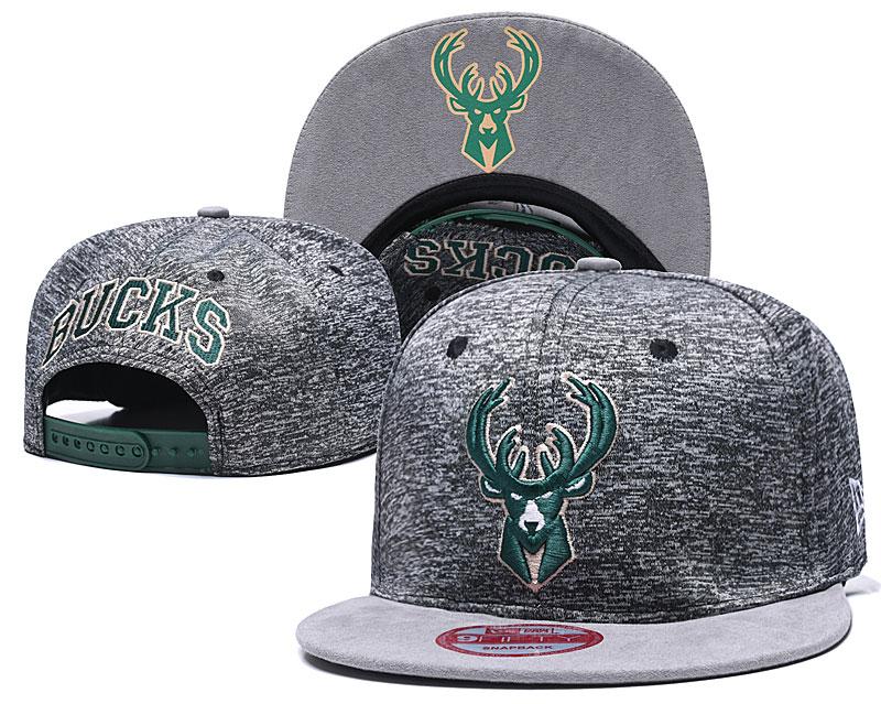 Bucks Team Logo Gray Adjustable Hat TX