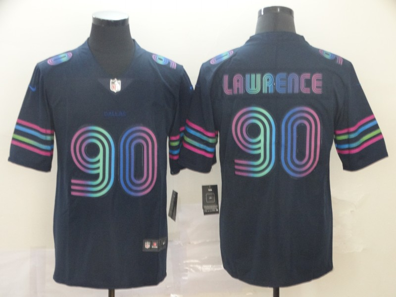 Nike Cowboys 90 Demarcus Lawrence Navy City Edition Vapor Untouchable Limited Jersey