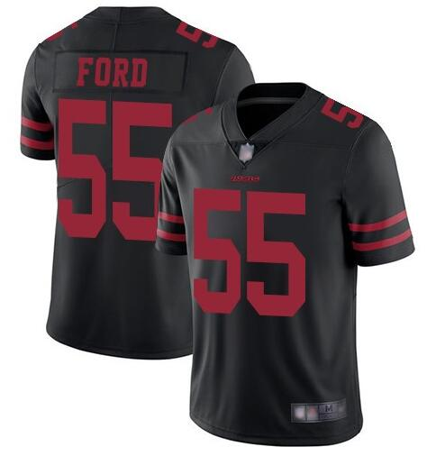 Nike 49ers 55 Dee Ford Black Vapor Untouchable Limited Jersey