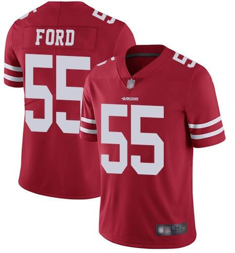 Nike 49ers 55 Dee Ford Red Vapor Untouchable Limited Jersey