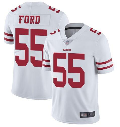 Nike 49ers 55 Dee Ford White Vapor Untouchable Limited Jersey