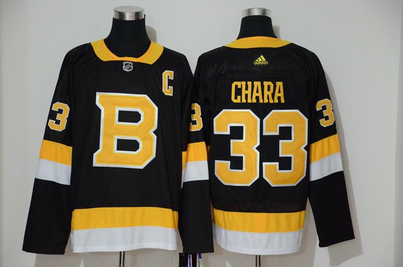 Bruins 33 Zdeno Chara Black Adidas Jersey
