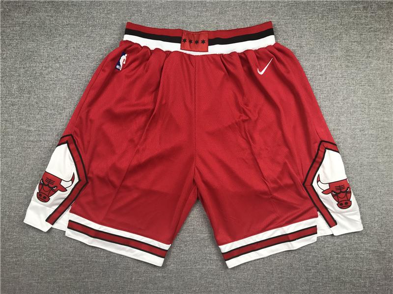 Bulls Red Nike Shorts