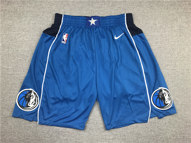 Mavericks Blue Nike Shorts