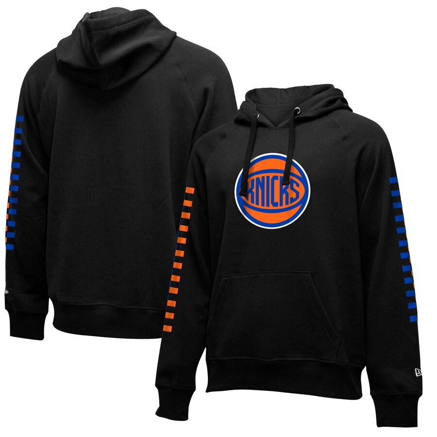 New York Knicks New Era 2019-20 City Edition Pullover Hoodie Black