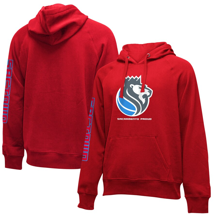 Sacramento Kings New Era 2019-20 City Edition Pullover Hoodie Red