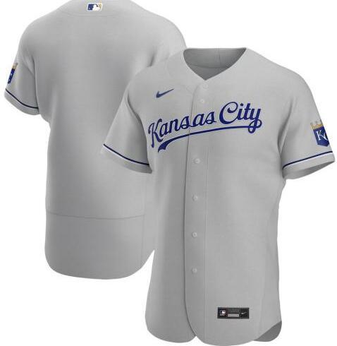 Royals Blank Gray 2020 Nike Flexbase Jersey