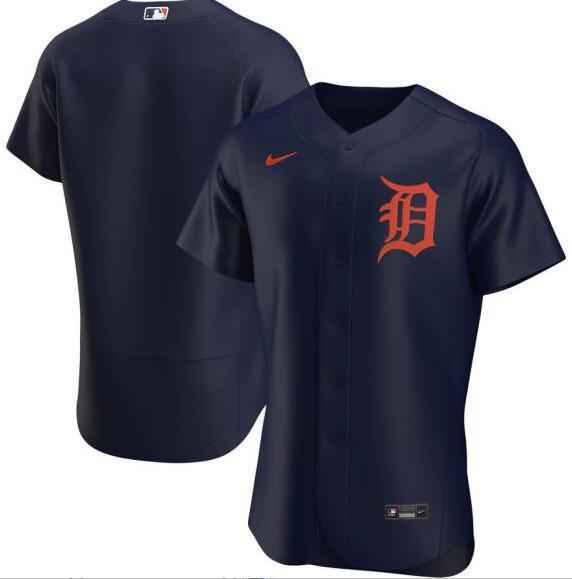 Tigers 24 Miguel Cabrera Navy 2020 Nike Flexbase Jersey