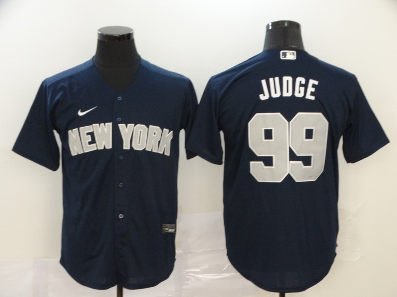 Yankees 99 Aaron Judge Navy 2020 Nike Cool Base Jersey