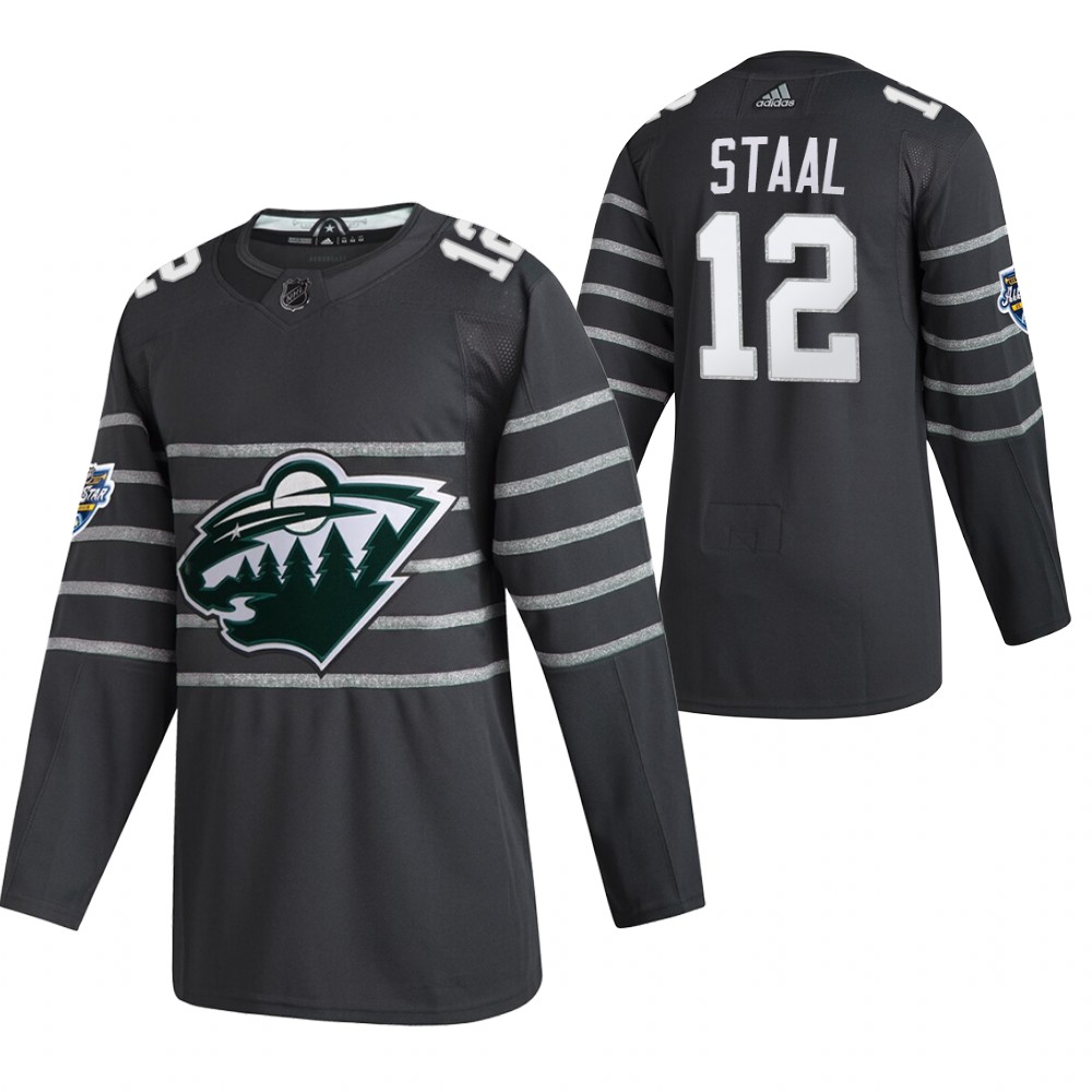 Wild 12 Eric Staal Gray 2020 NHL All-Star Game Adidas Jersey