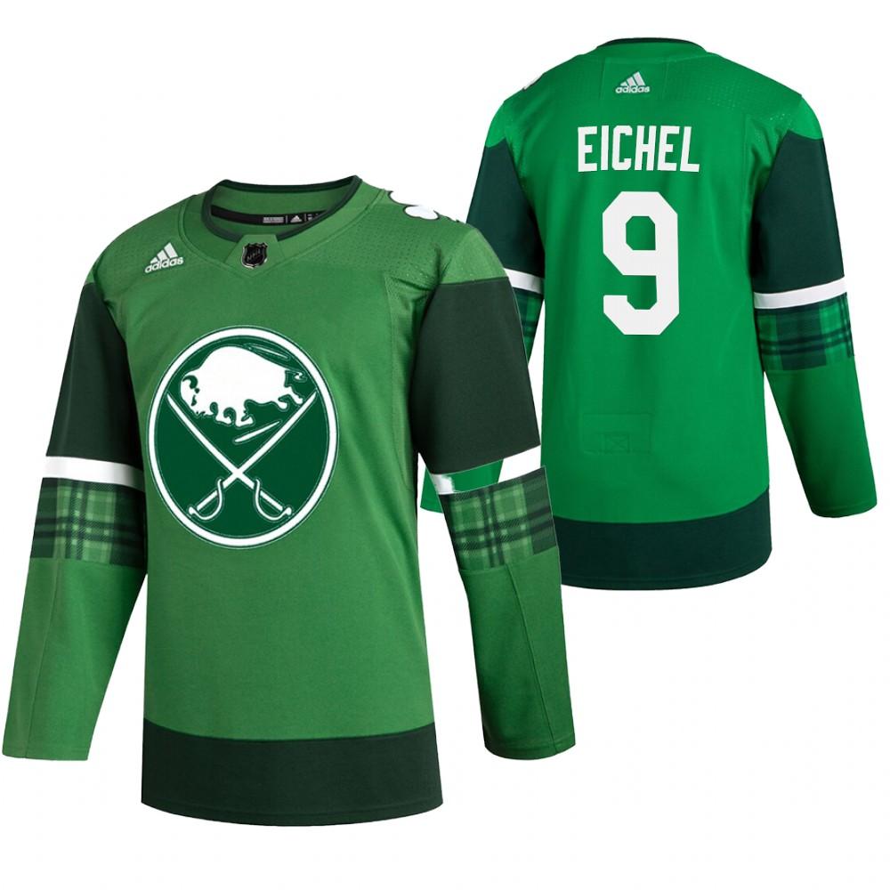 Sabres 9 Jack Eichel Green 2020 Adidas Jersey