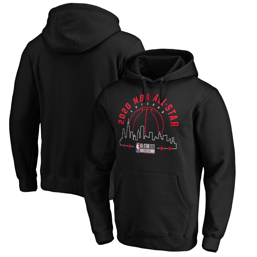 Fanatics Branded 2020 NBA All Star Game Got The Skills Pullover Hoodie Black