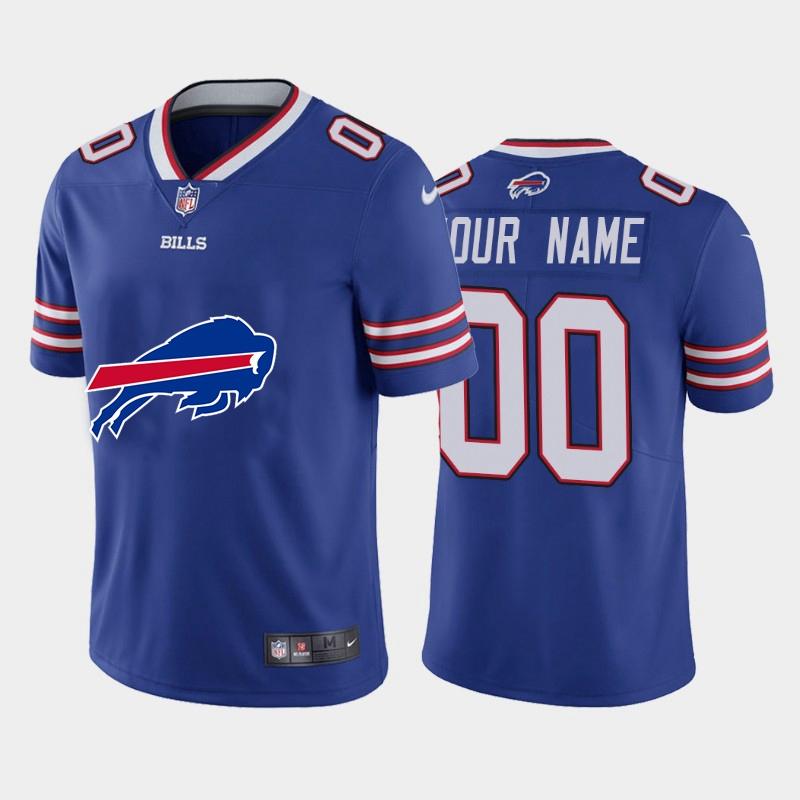 Nike Bills Customized Royal Team Big Logo Vapor Untouchable Limited Jersey