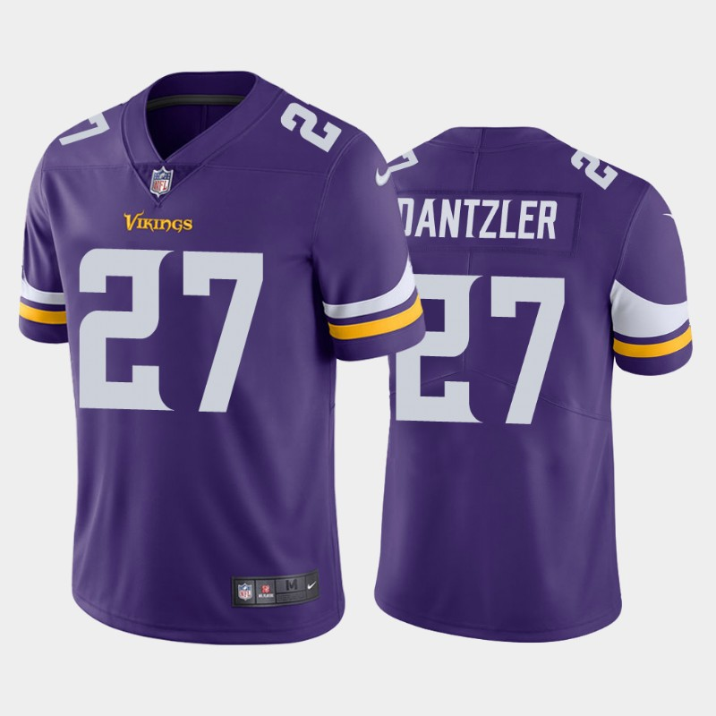 Nike Vikings 27 Cameron Dantzler Purple 2020 NFL Draft Vapor Untouchable Limited Jersey
