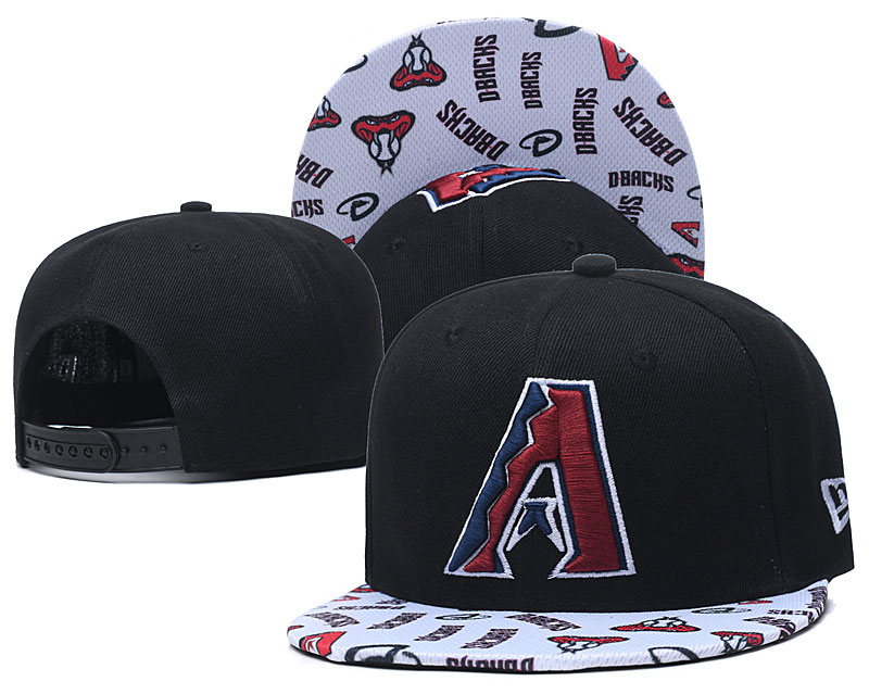 Diamondbacks Team Logo Navy White Adjustable Hat TX